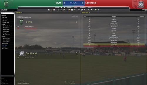 1 blyth vs southend league one