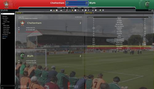 2 cheltenham vs blyth league one