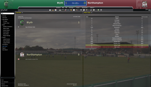 3 blyth vs northampton league one