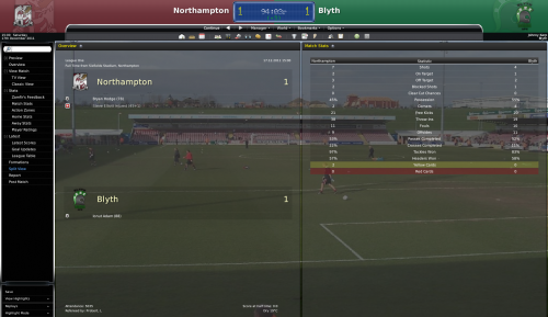 3 northampton vs blyth league one