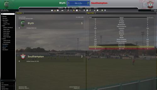 6 blyth vs southampton fa cup