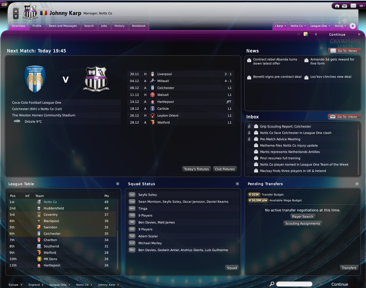 Football manager 2011 / 2010 wonderkids, stories and tactics: fm10.