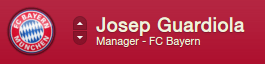 Josep Guardiola beedie