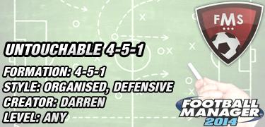 untouchable 4-5-1 tactic feature image
