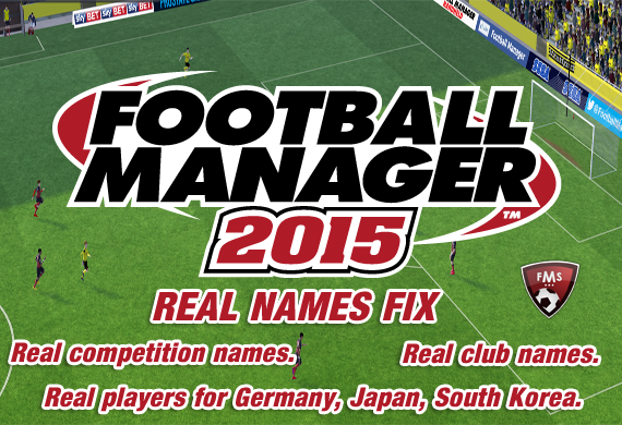 FM 2015 real names
