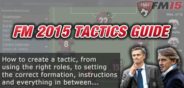 FM 2015 Tactics Guide: How To Create a Tactic • FM Stories