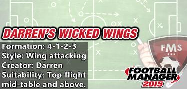 Darren's wicked wings 4-1-2-3
