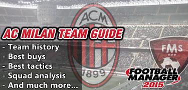 FM 2015 AC Milan team guide