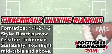 Tinkerman's winning diamond