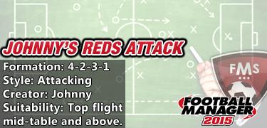 Best FM 2015 Tactics - Johnny Reds Attack