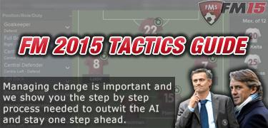 FM 2015 tactics guide managing chnage feature