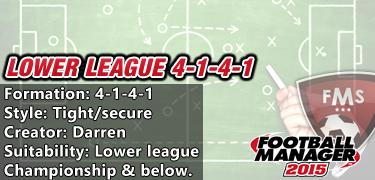 Lower League 4-1-4-1