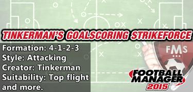 Best FM 2015 Tactics Goalscoring Strikeforce