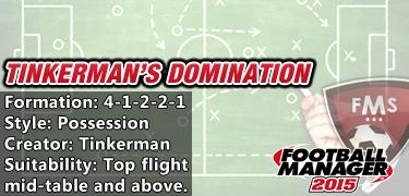Best FM 2015 tactics - Tinkerman's Domination