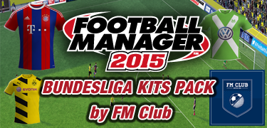 FM 2015 Bundesliga Kits Pack