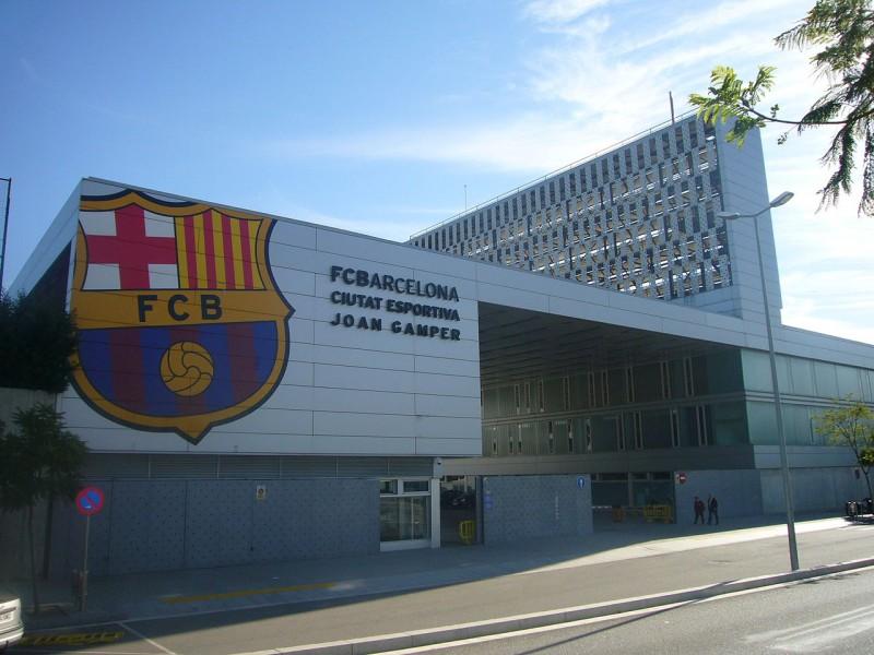 Barcelona's youth teams now trains at  Ciutat Esportiva Joan Gamper.