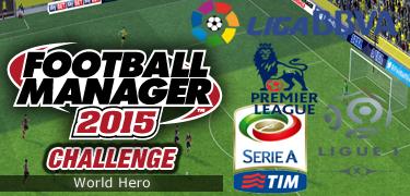 FM 2015 challenge world hero