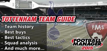 FM 2015 Tottenham Guide