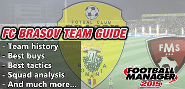 FC Brasov FM 2015 team guide