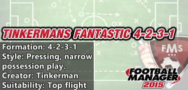 Tinkerman's Fantastic 4-2-3-1
