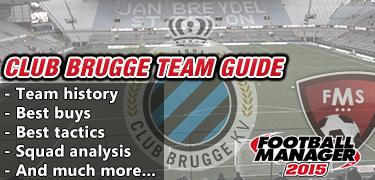 FM 2015 Club Brugge team guide