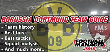FM 2015 Borussia Dortmund guide