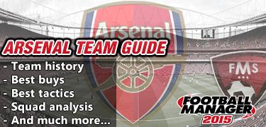 FM 2015 Arsenal guide