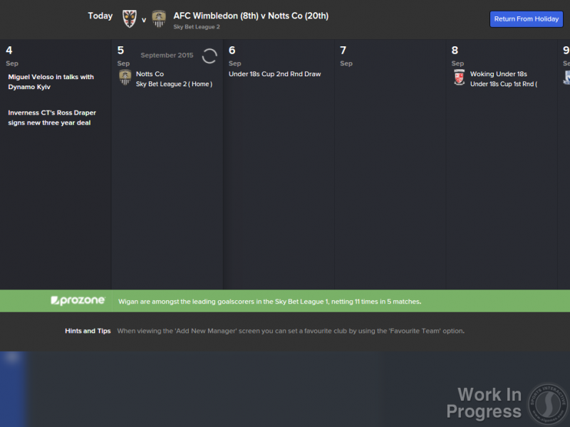 FM16 - Rolling Stats Processing Panel