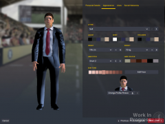 Initial Announcement - Manager on Touchline Creation