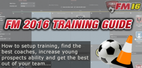 FM16 training guide feature