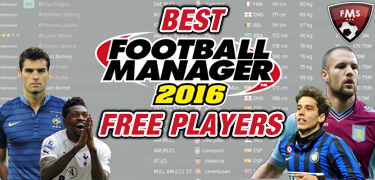 Best FM 2016 Free players shortlist feature small