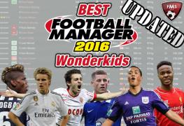 Best FM 2016 Wonderkids shortlist feature
