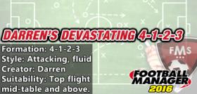 Darren's devastating 4-1-2-3