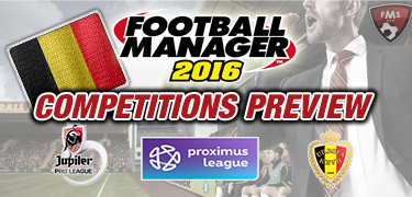 FM 2016 competitions preview Belgium
