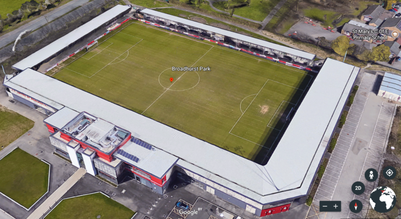 FC United of Manchester Stadium Broadhurst Park