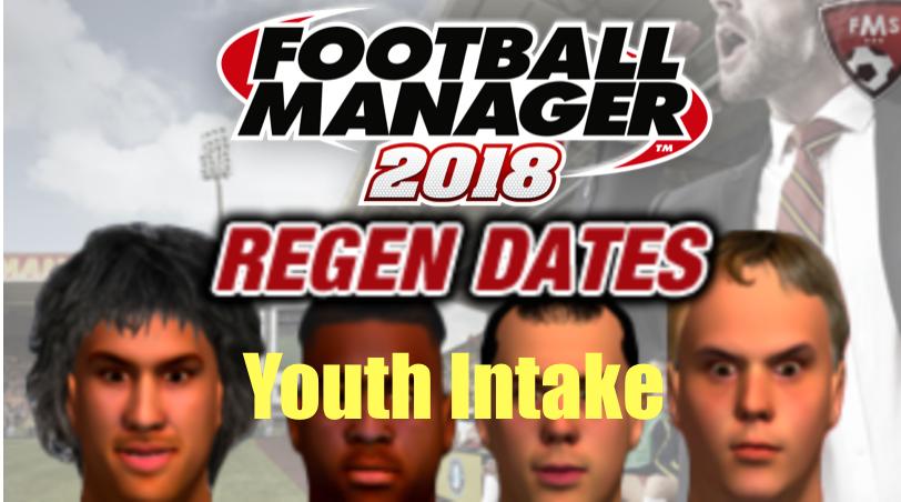 FM 2019 Regen Dates - Youth Intake - Newgens • FM Stories