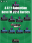 4 4 1 1 formation best fm 18 tactics