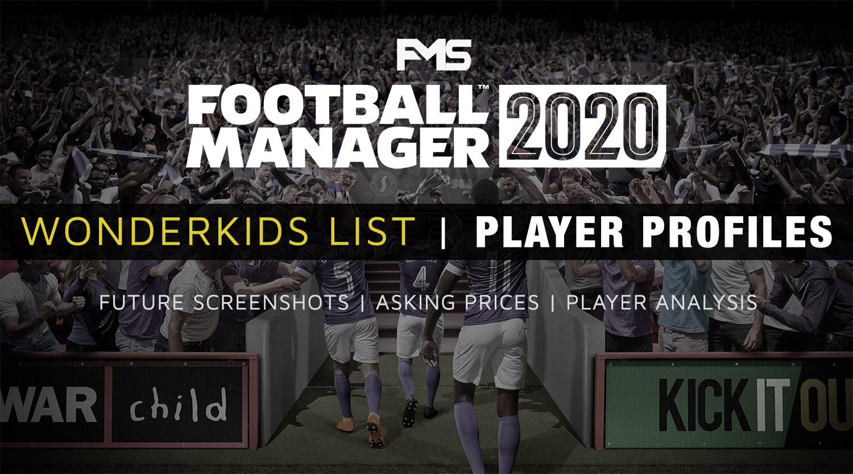 Best Bookmark Manager 2020.Best Fm 2020 Wonderkids Player Profiles List Football