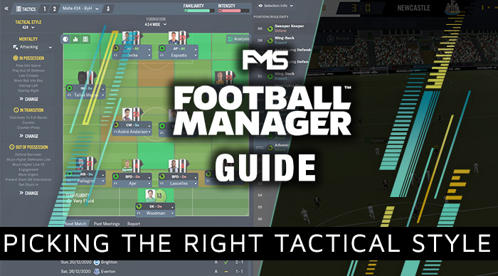 FM 2020 Tactical Guide, how to pick the right tactical style
