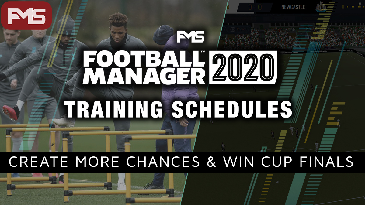 FM 2020 Training Schedules feature