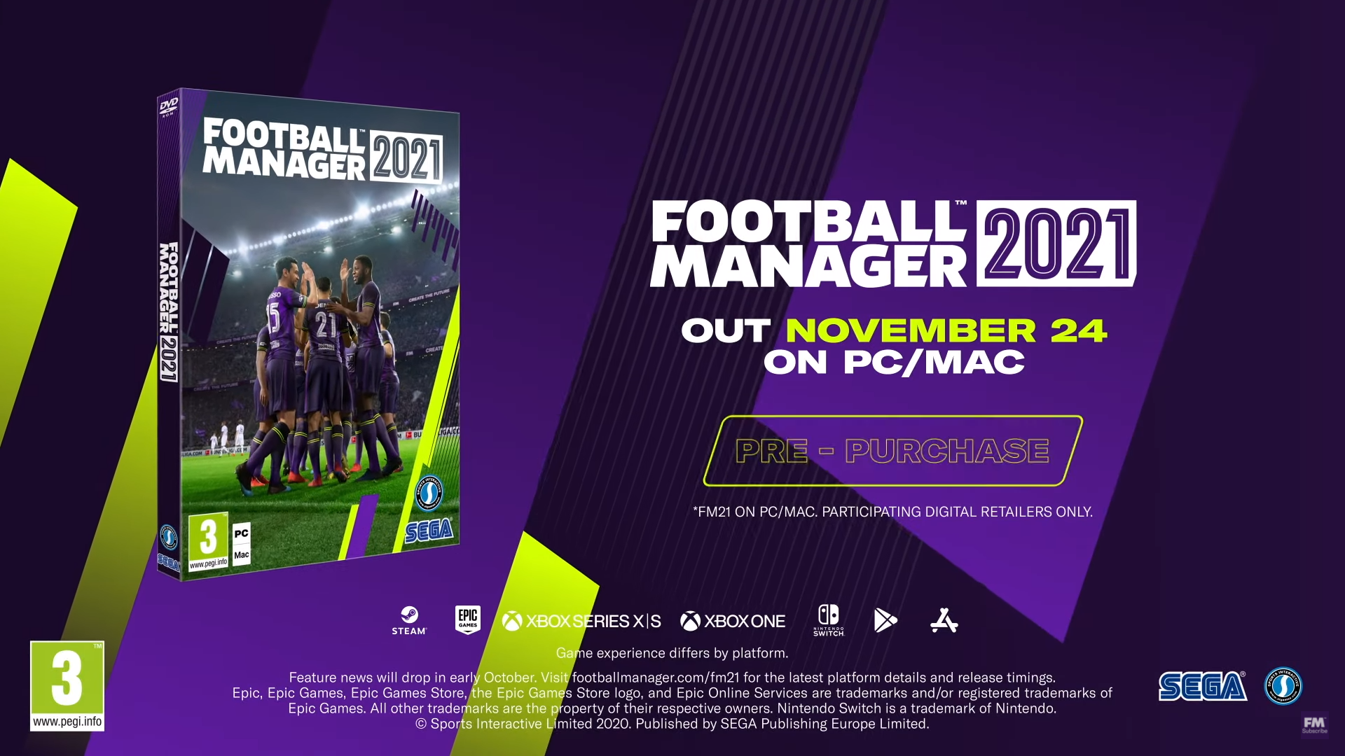 FM 2021 release date, news and features
