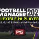 FM 2021 Flexible Potential Players