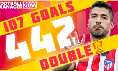 4-4-2 Best FM22 tactic Flamengo