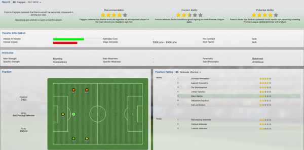 fm 2013 marc bartra scout report
