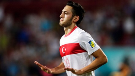 fm 2014 player profile of hakan calhanoglu