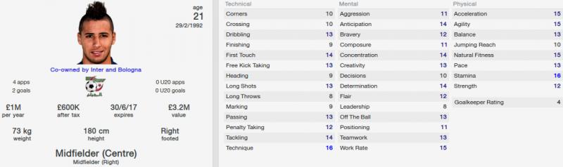 saphir taider fm 2014 initial profile