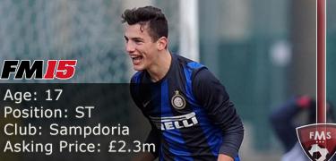 FM 2015 profile, Federico Bonazzoli image2