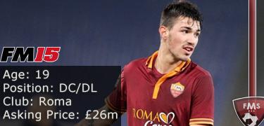 FM 2015 profile, Alessio Romagnoli image2