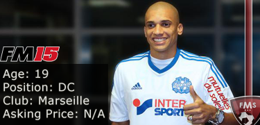 FM 2015 Player Profile of Doria