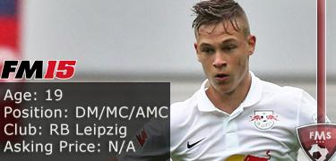 FM 2015 Player Profile of Joshua Kimmich